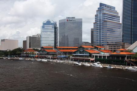 jacksonville: downtown of Jacksonville Florida Editorial