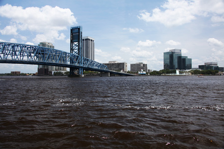 downtown of Jacksonville Florida Editorial