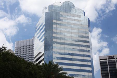 jacksonville: downtown of Jacksonville Florida Stock Photo