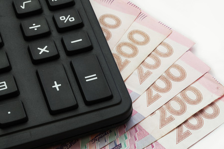 ukrainian: Ukrainian banknote Stock Photo