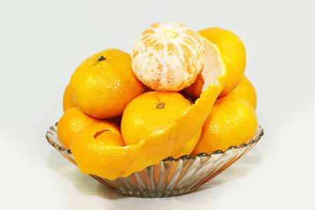 tangerines in a vase Imagens - 53533890