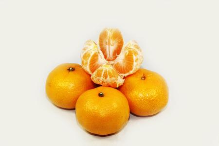 orange peel skin: tangerine