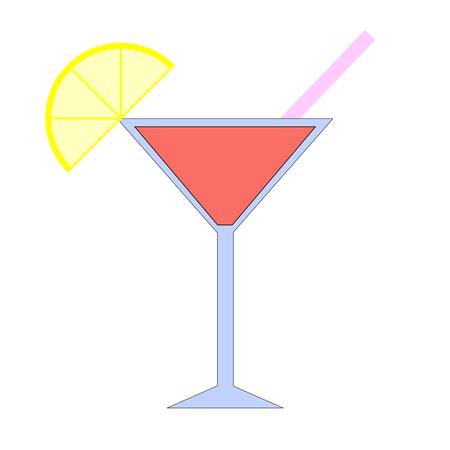 tumbler: footed tumbler Illustration