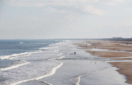 St Augustine Beach in Atlantic coast of north Florida