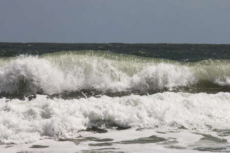ocean waves on the Atlantic coast of Florida