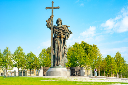 Vladimir Svyatoslavich, Baptist of Russia Monument, sculpture, Russia