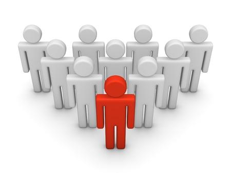 Team leader Stock Photo - 13078207