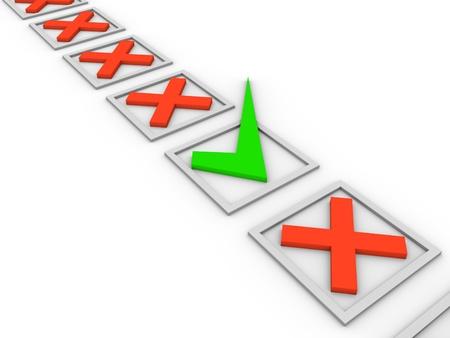affirm: Choice concept