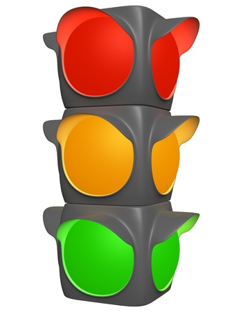 Traffic light Stock Photo - 13097401