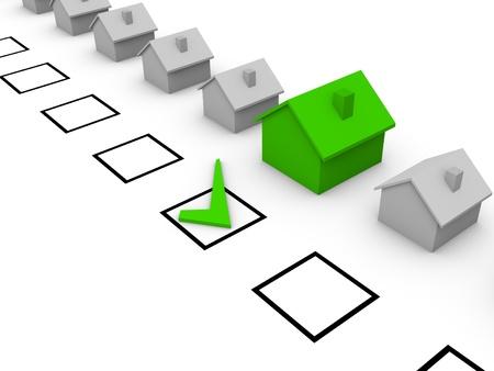 viviendas: Elecci�n de la casa