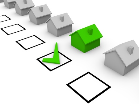 affirm: Choice of house
