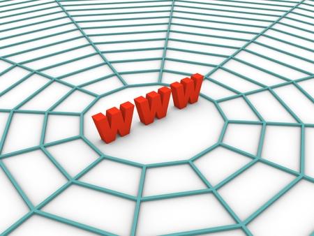 world wide web: Web Stock Photo