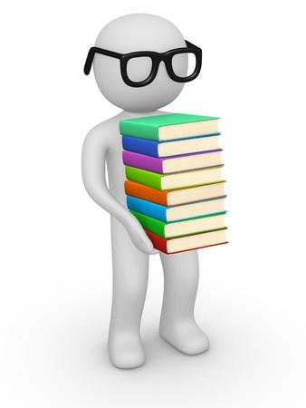 reference book: Rat�n de biblioteca