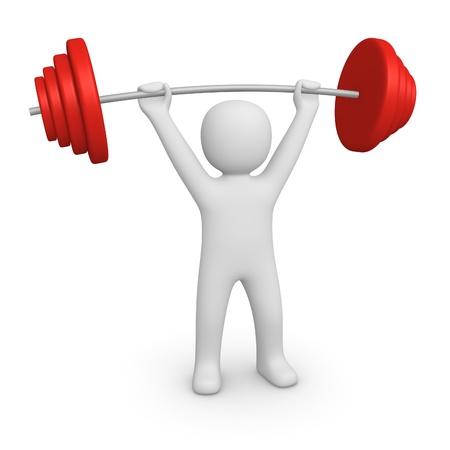 weightlifting equipment: Bodybuilder