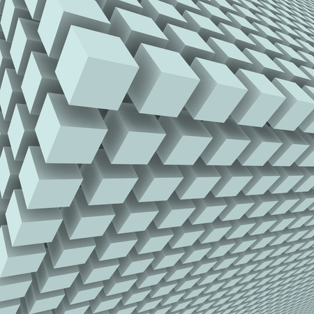 technological: Abstract background with 3d cubes