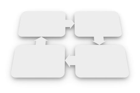 diagrama procesos: Diagrama en blanco de las relaciones
