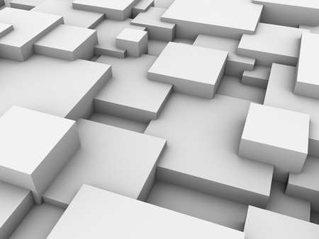 Abstract background of 3d blocks Stockfoto