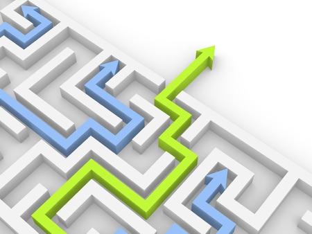 doolhof: Weg uit het labyrint