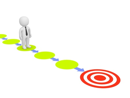 steps to success: Way to target