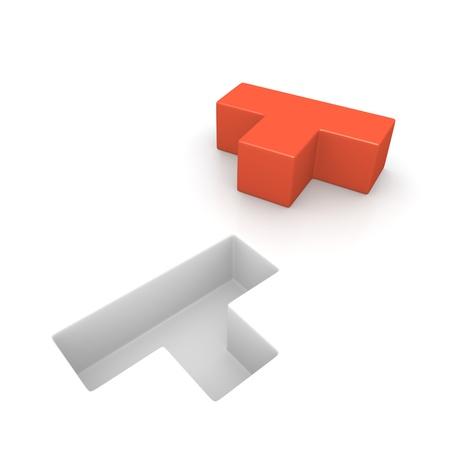 logica: El concepto de la l�gica del juego generado por ordenador imagen Foto de archivo