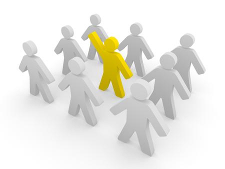 Initiative person Stock Photo - 24910823