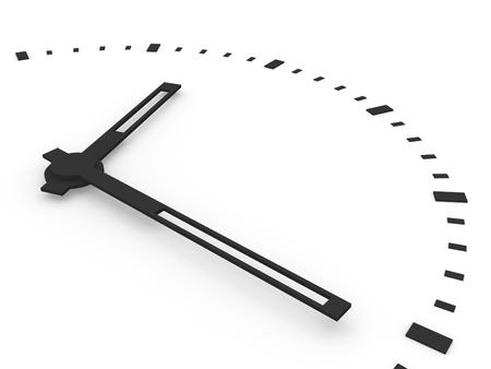 生産性: 時計のクローズ アップ