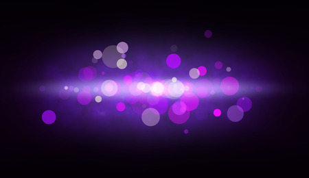 Abstract background with big color spots and glow photo