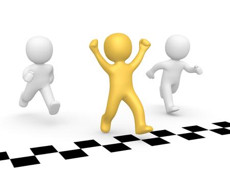 Winner of a race