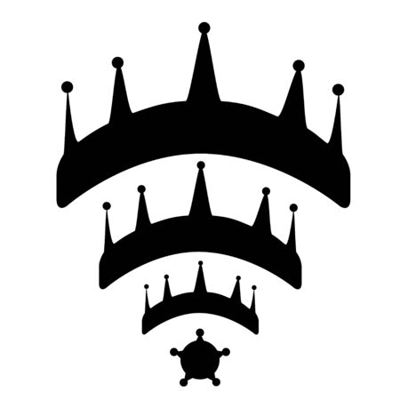 Crowns wifi illustration