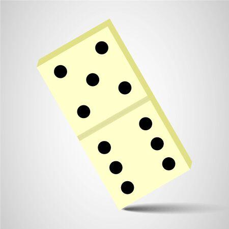 domino icon. domino sign