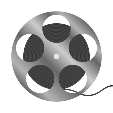reel with a film Illustration