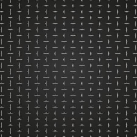 Sfondo texture metallo nero Vettoriali