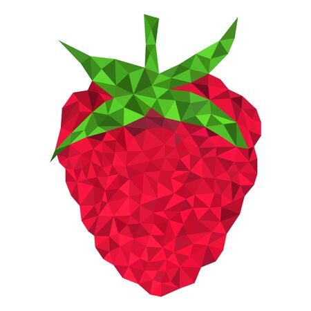 raspberry triangulation style