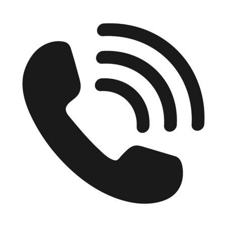 icon phone handset Иллюстрация