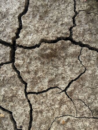 Background brown Cracked ground,Cracks on the surface of the earth