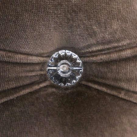 cool big diamond embroidered on fabric