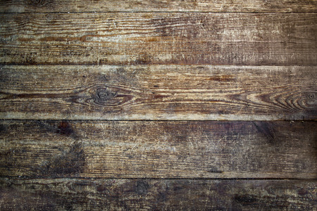 Texture of brown wood. Rough planks.