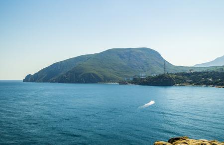Ayu-Dag or Medved-gora Crimea. Bear mountain on Black Sea