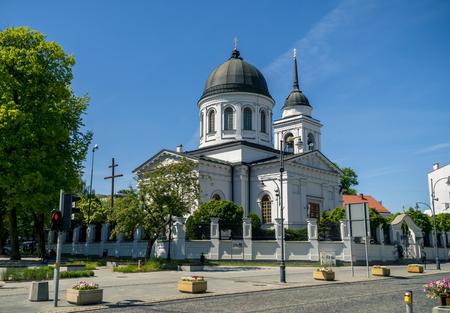 parish: Church of St. Nicholas the Wonderworker Bialystok, Poland Stock Photo