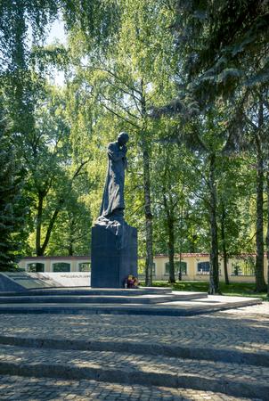 Monument to Ks. Jerzy Popieluszko in Bialystok, Poland