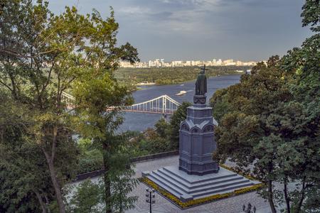 Saint Volodymyr Hill and Dnieper River