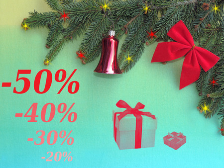 Christmas discount photo