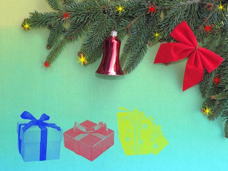 Christmas gifts photo