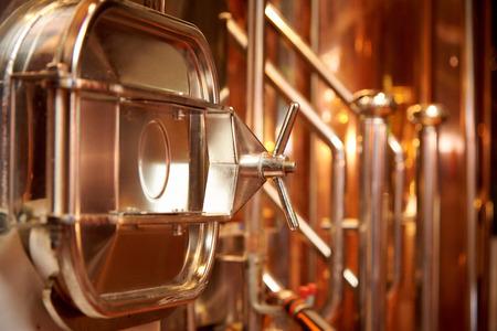 Equipment for the preparation of beer Standard-Bild