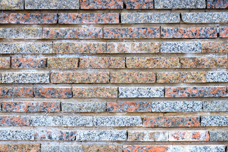 Background texture of multi-colored brick wall.Texture and Background concept.