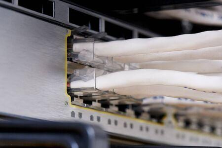 Internet service provider communications equipment.