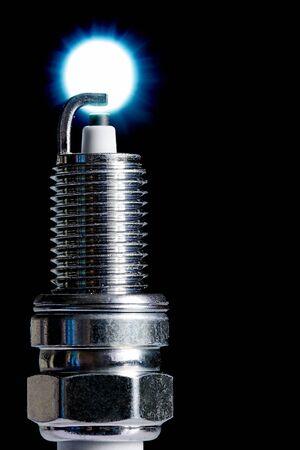 Spark plug for internal combustion engine.