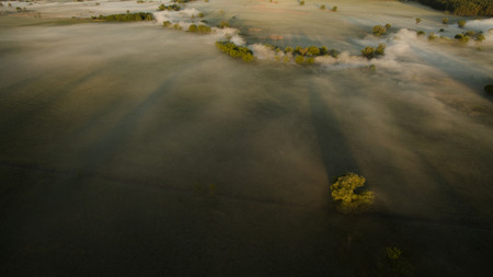 bogs: Beautiful scenery shot from the drone