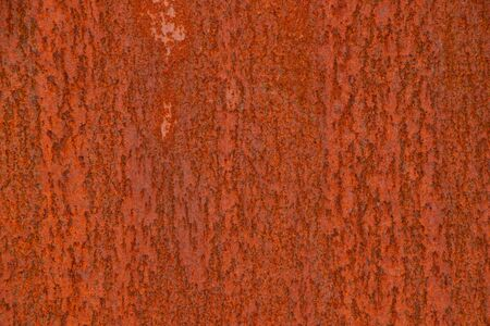 background of old rusty metal wall close up