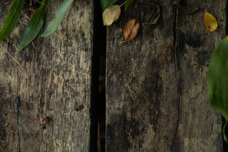 dirty wooden board as a closeup background Foto de archivo - 150126271
